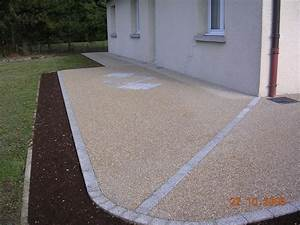 Cailloux Pour Cour : am nagement de terrasse cuinet am nagement ext rieur ~ Premium-room.com Idées de Décoration