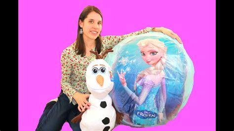 olaf anna huge surprise egg  barbie dolls youtube