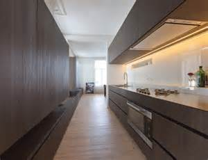 kitchen with bench by belgian architect pieter thooft warm white led