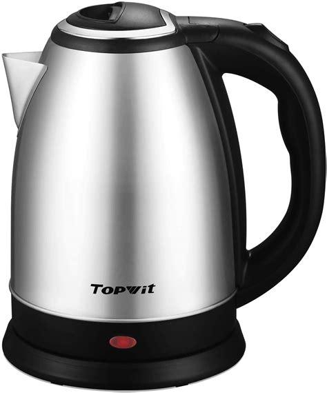 kettle water electric stainless steel heater coffee cordless pot boiler tea liter warmer tetera agua cafe gooseneck bodum shut electrica