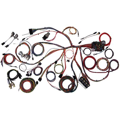 1968 Mustang Wiring Harnes by Complete Wiring Kit 1967 68 Mustang Holohan S Rod Shop