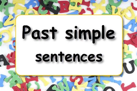 simple sentences learnenglish kids british council