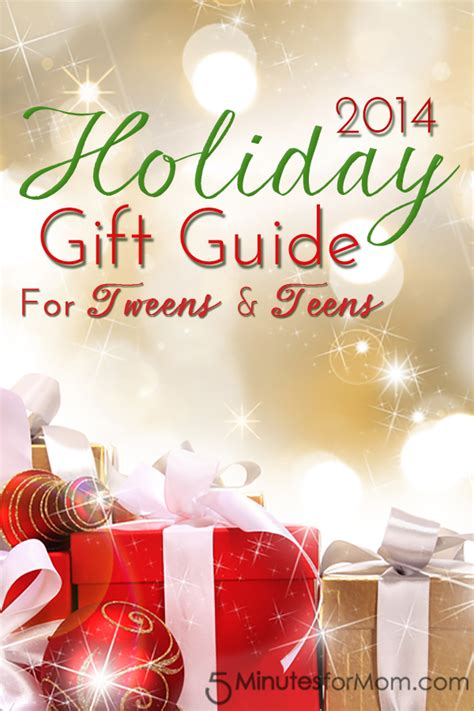 holiday gift guide 2014 for tweens teens 5 minutes