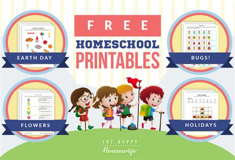 homeschool free printables the happy home schooling