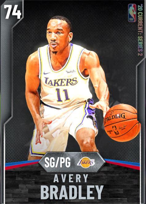 NBA 2K20 | 2KDB Avery Bradley (74) complete stats