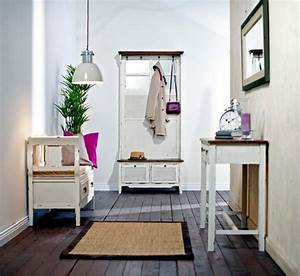 Hallway design with antique furniture Interior Design