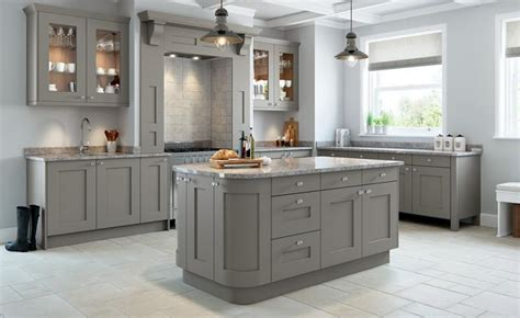 best grey paint for kitchen cabinets uk rivington bespoke painted kitchen in dove grey