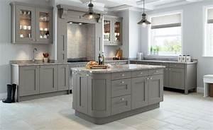 Rivington, Bespoke, Painted, Kitchen, In, Dove, Grey