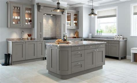 Rivington Bespoke Painted Kitchen in Dove Grey   Lark & Larks
