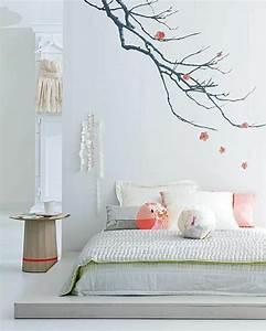 Décoration Murale Orientale : la d coration japonaise et l 39 int rieur japonais en 50 photos ~ Teatrodelosmanantiales.com Idées de Décoration