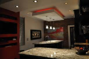 drop lights for kitchen island 12 kitchens with neon lighting