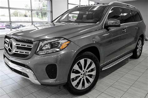 Its interior upgrades include ambient lighting, leather dashboard, special wood trim, and premium porcelain/expresso brown leather upholstery with stitched surfaces. 2020 Mercedes-Benz GLS 450 4MATIC®* vs 580 4MATIC®*