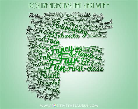 adjectives that start with the letter y positive thesaurus positive words for you august 2014 20398 | positive adjectives that start with f positivethesaurus com