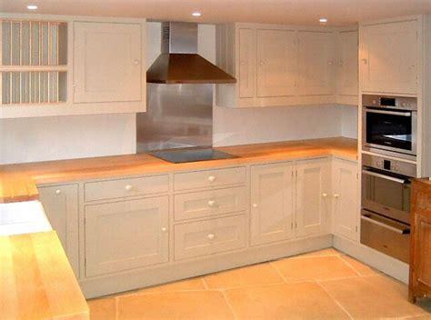 plan de travail cuisine bois massif maison design
