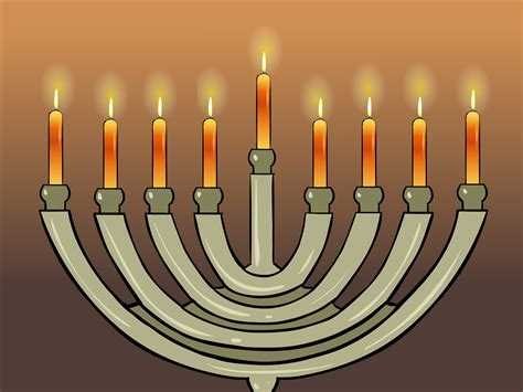 Light The Menorah by How To Light A Chanukah Menorah 11 Steps With Pictures