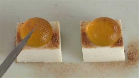 cuisine moleculaire cuisine moléculaire fondant coco amande