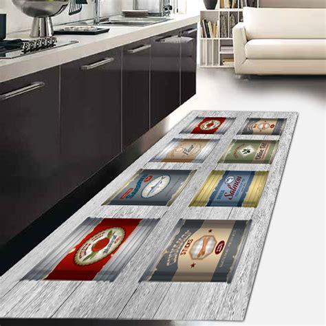 tappeti suardi tappeto passatoia cucina kitch ecologico in microciniglia