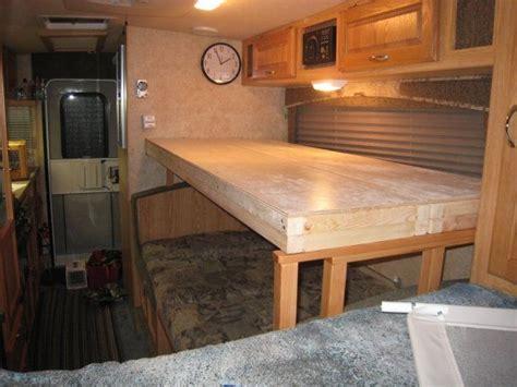 creating  bunk bed   dinette   trailerrv