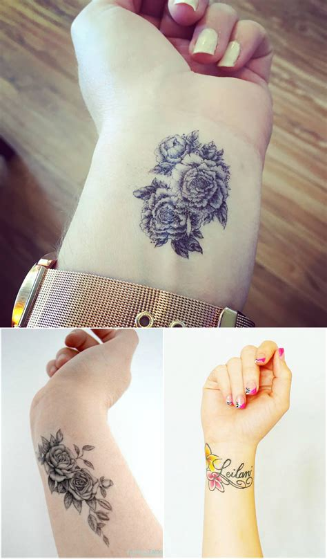 Highly Cute and Sensational Wrist Tattoo Designs - Top Beauty Magazines