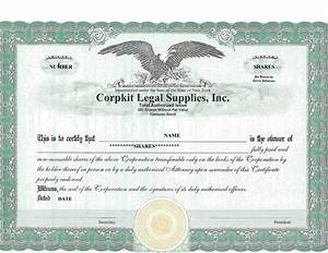 40 free stock certificate templates word pdf With bond certificate template