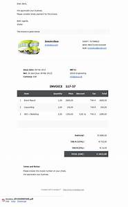 download invoice template video production rabitahnet With video editor invoice template