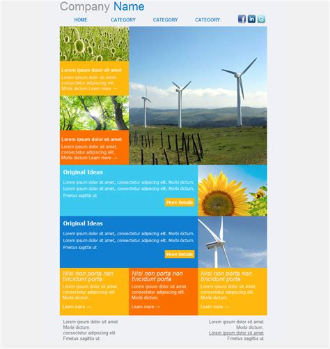 Enewsletter Template Design by 33 Best Email Template Designs For Download Purchase