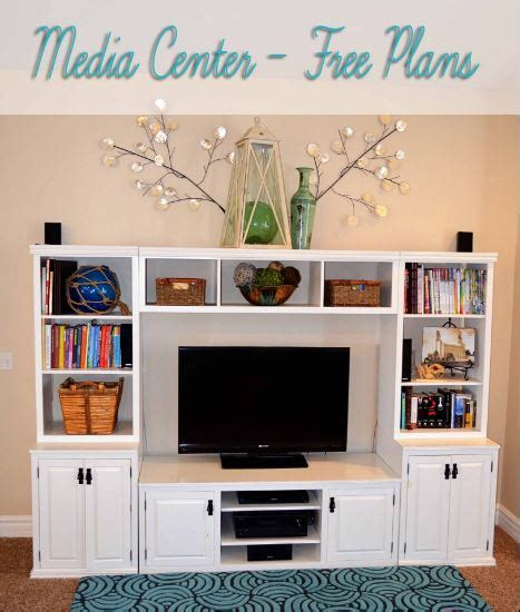 diy entertainment center projects  ideas home