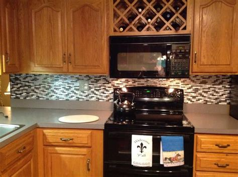 credence adhesive cuisine quot a kitchen backsplash done in two hours we it and