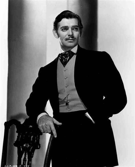 Publicity shot of Clark Gable as Rhett Butler from Gone