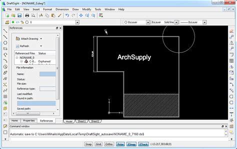 Draftsight House Plan Tutorial