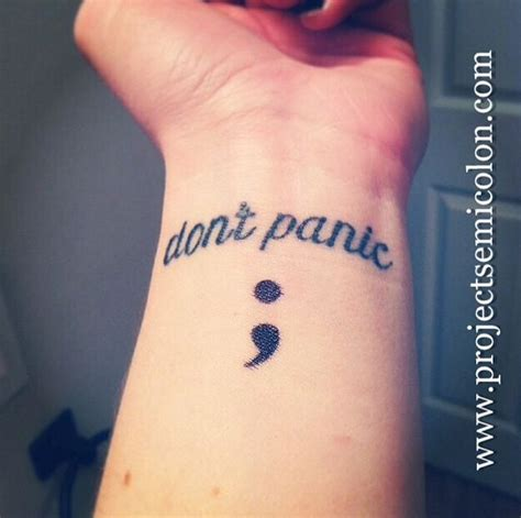 beautiful semicolon tattoos  raise awareness