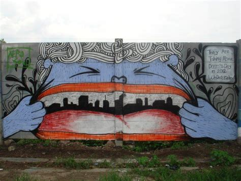 Graffiti Cirebon : Big Walls By Guz Lii