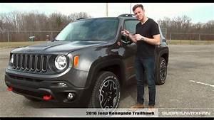 Jeep Renegade Trailhawk : review 2016 jeep renegade trailhawk youtube ~ Medecine-chirurgie-esthetiques.com Avis de Voitures