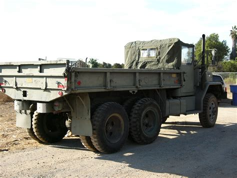 M35a2c 2.5-ton 6×6 Cargo Truck