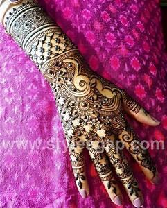 Latest Arabic Mehndi Designs Henna Trends 2018-2019 ...