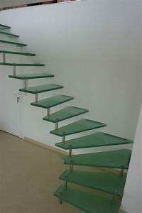 Escalier Double Quart Tournant Pas Cher : prix d un escalier en verre ~ Premium-room.com Idées de Décoration