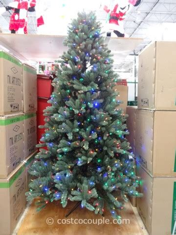 xmas trees at costco ez connect 7 5ft prelit led tree
