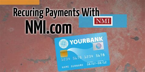 When you cancel a credit card that number is no longer valid so if it was not linked to a bank account as a backup there is no way your card is going to continue recurring payments. Recurring Payments With NMI - BancardSales.com