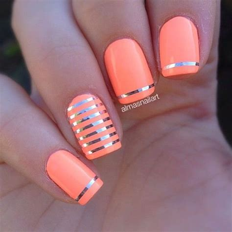 beautiful acrylic nail paint design ideas