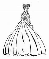 Coloring Pages Dress Wedding Barbie Printable Print Getcolorings Colorings sketch template