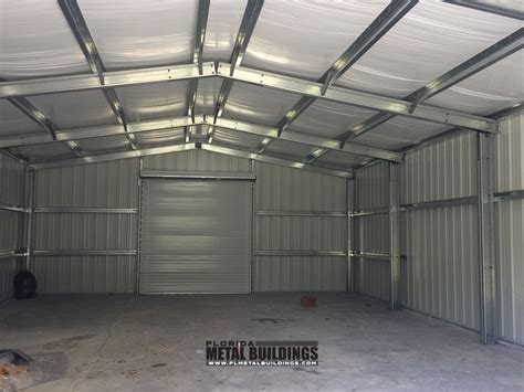 Metal Sheds Ocala Fl by Metal Building For Tractor Storage At Bg Farms In Ocala