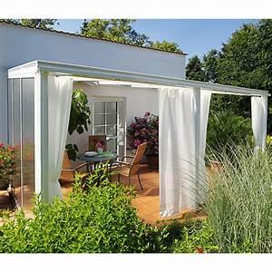 Vorhang Für Balkon : vorhang set gr e 2 f r terrassen berdachung exklusiv ~ Watch28wear.com Haus und Dekorationen