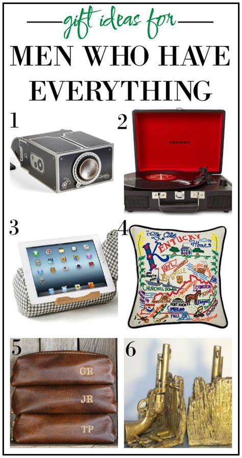 gift ideas for who everything except these