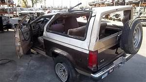 1988 Ford Bronco Ii Starter Motor  Part Number E47f