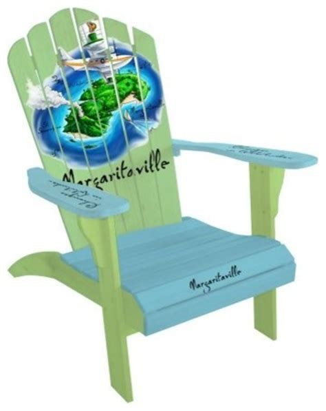 Margaritaville Classic Adirondack Chair by Margaritaville Classic Adirondack Parrot Island