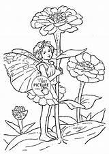 Coloring Zinnia Flower Fairy Printables Border Wuppsy Designlooter Para Colorear 81kb 1480 Drawings Sketch Visitar Template Artículo sketch template