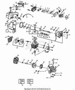 Poulan Gti15 Gas Trimmer Parts Diagram For Power Unit