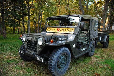 1965 Jeep M151 Military 4x4 Utility Vehicle