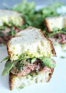Cowboy Butter Skirt Steak Sandwiches