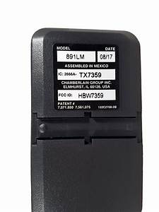 Liftmaster Security  2 0 1 Button Visor Garage Remote